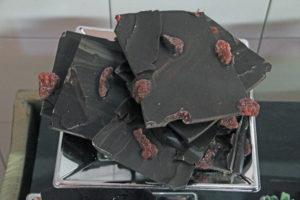 Chocolate fresa negro Bizkarra