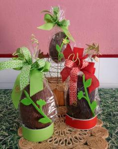 buñuelos y huevos de chocolate bizkarra