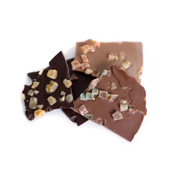 Laminas de chocolate