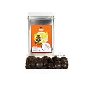 fondue de chocolate negro Bizkarra