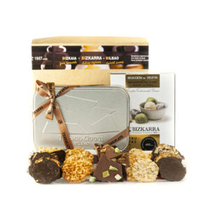 Zazpi Kaleak tejas de almendra y chocolates
