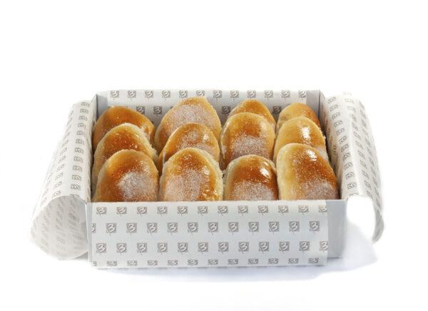 caja de bollos de mantequilla