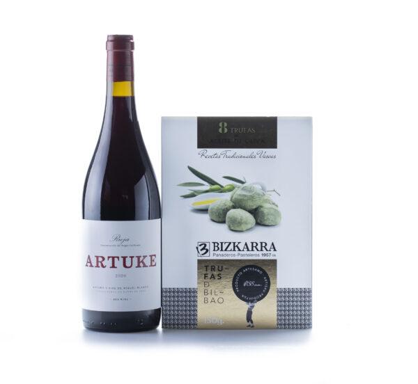 maridaje trufas aceite y vino Artuke